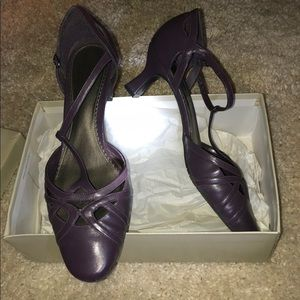 Plum Purple heels